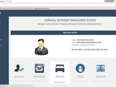 Cornhill Outdoor Management System