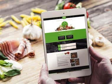 Food Restaurant website