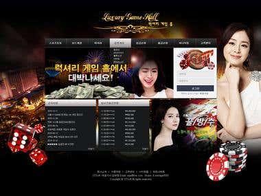 Casino site Design