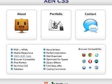My XenCSS Portfolio