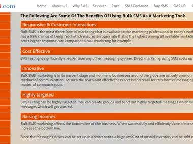 SMS Marketing Application