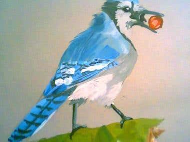 Gouache Birds