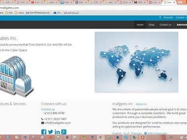 E-commerce website build on odoo