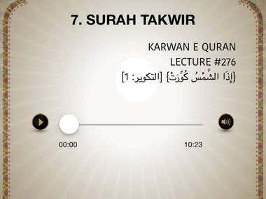 Karwan-e-Quran (IOS)
