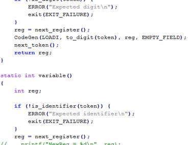 Small optimizer compiler
