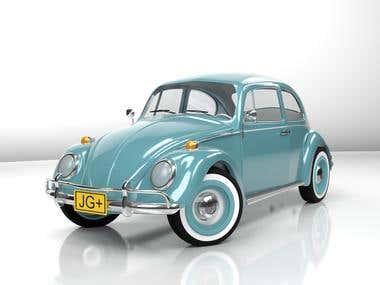 Volkswagen beetle 1986