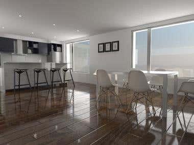 Interior Design Render Photorealistc