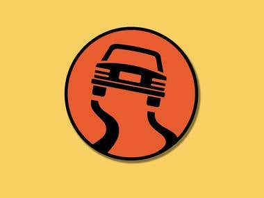 Icona cartello stradale