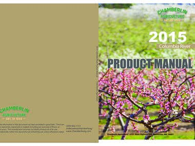 Cover Design - Chamberlain Agriculture 2015 Product Manual