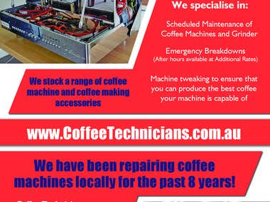 Flyer Design - Coffee Technicians