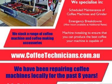 Flyer Design - Coffee Technicians