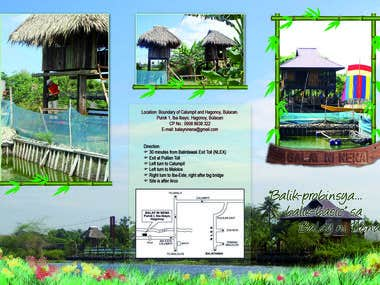 Brochure for Balay ni Nena