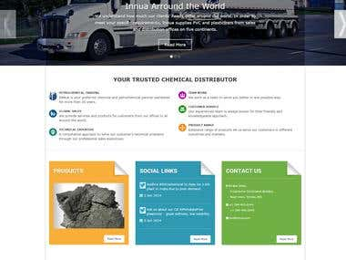 Innua Website Design