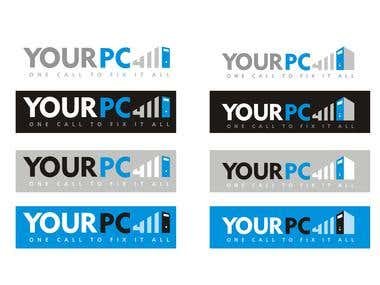 Logo design for pc company