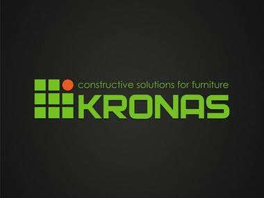 Kronas logo | Логотип компании Кронас