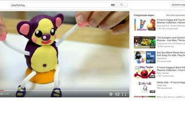 """Video editing for Youtube channel """"Playfulclay"""""""