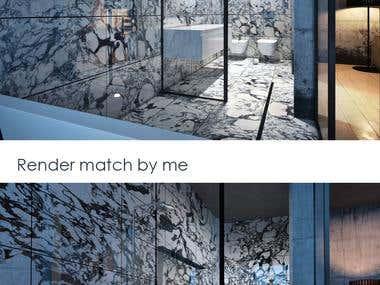 bathroom _Rendermatch