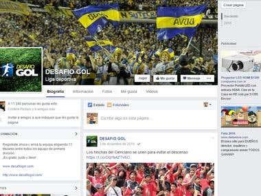 Social Media Manager en Desafío Gol