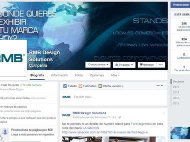 Asesor de Marketing Digital para RMB Design Solutions