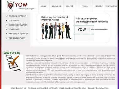 Telecomm Website