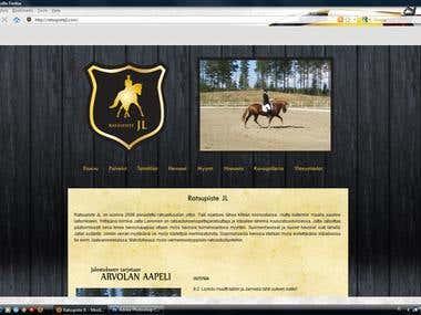 Joomla website and logo