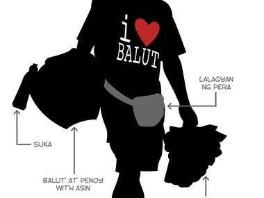 Anatomy of a Balut vendor