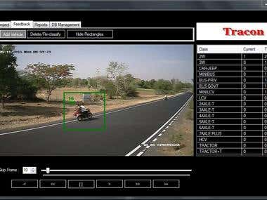 Tracon:Vehicle tagging system