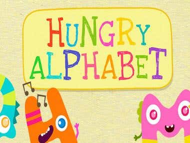 Hungry Letters - Kids App