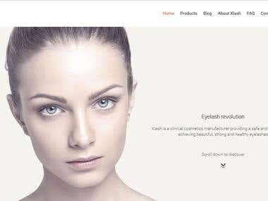 Beauty Product Sell Website