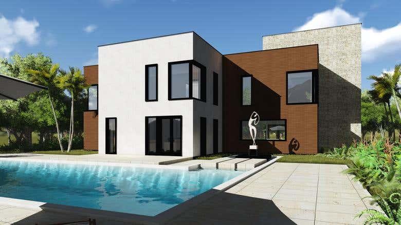 MORROCO MODERN HOUSE   Freelancer