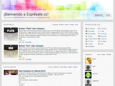 Expresate.cc Online Community