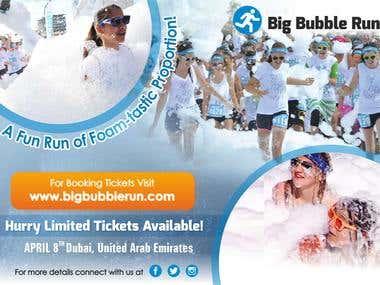 Big Bubble Run-Flyer