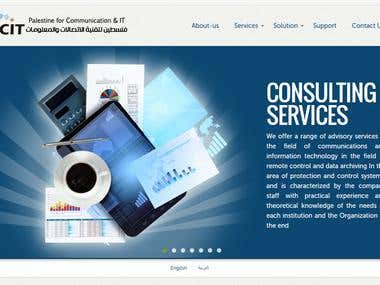Website for PCIT Company