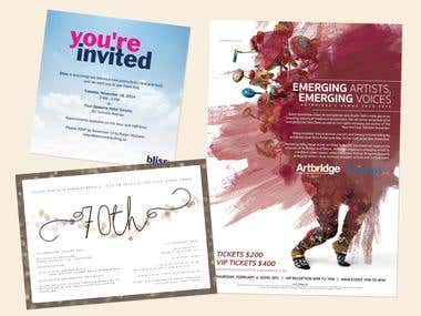 Invitations Set