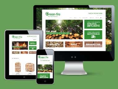 Website for Green Fire
