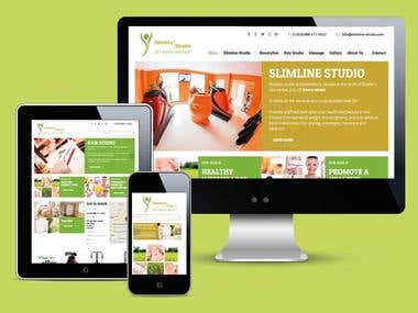 Website for Slimline Studio