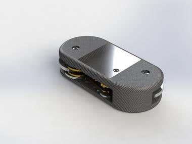 Carbon Fibre Keycase