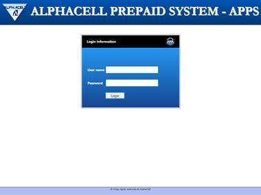 Alpha Cell Customer Portal