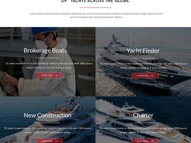 Yacht Booking Portal