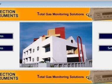 Alarm and sms system for Gas Leakage(Serial communication)