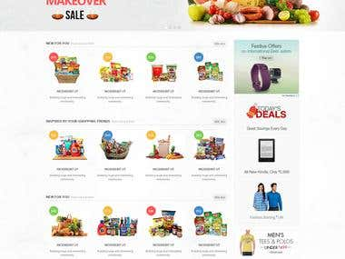 Grocery Web Marketplace & Android App
