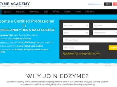 Edzyme Academy offers courses training & certifications