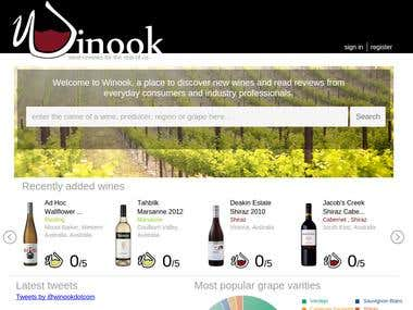 Winook for Wine reviews for the rest of us.