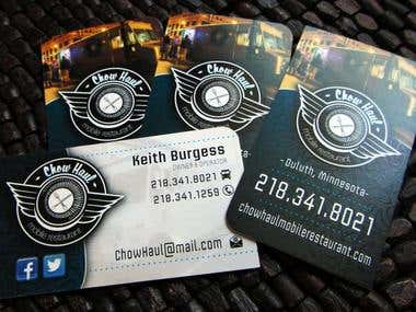 Chowhaul Business Cards
