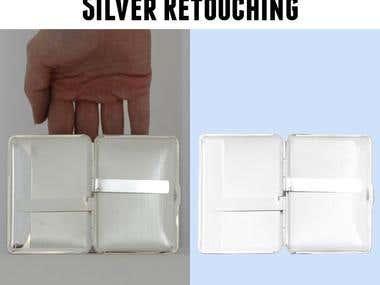 Silver en Jewelry retouching