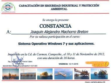 Windows 7 certification
