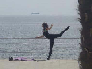 Ballerina's training
