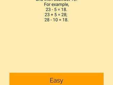 Math Fitness