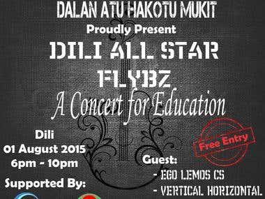 Leaflet - A Concert For Education