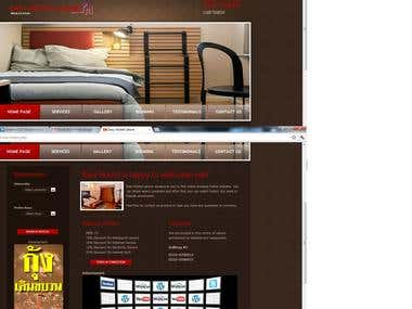easy Hostel website